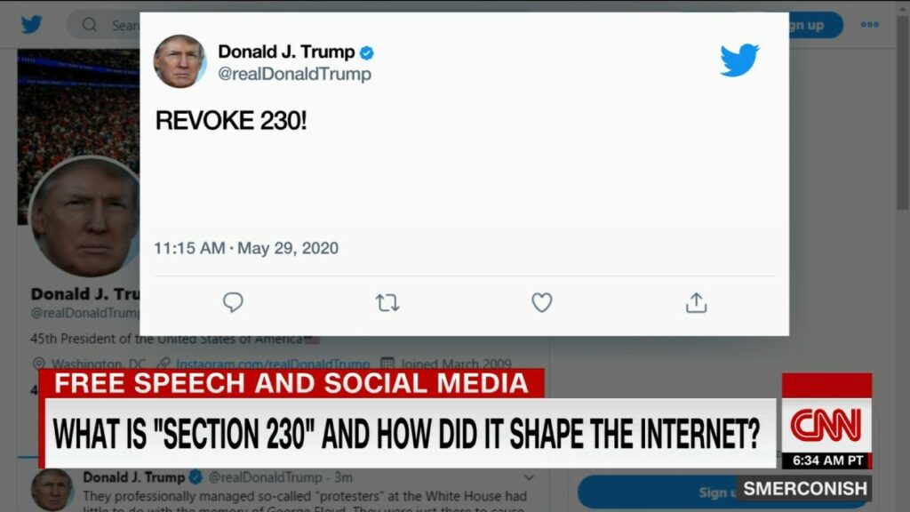365j.me 特朗普废除230条款动机不简单 特朗普为何要废除保护美国互联网公司的230免责条款?