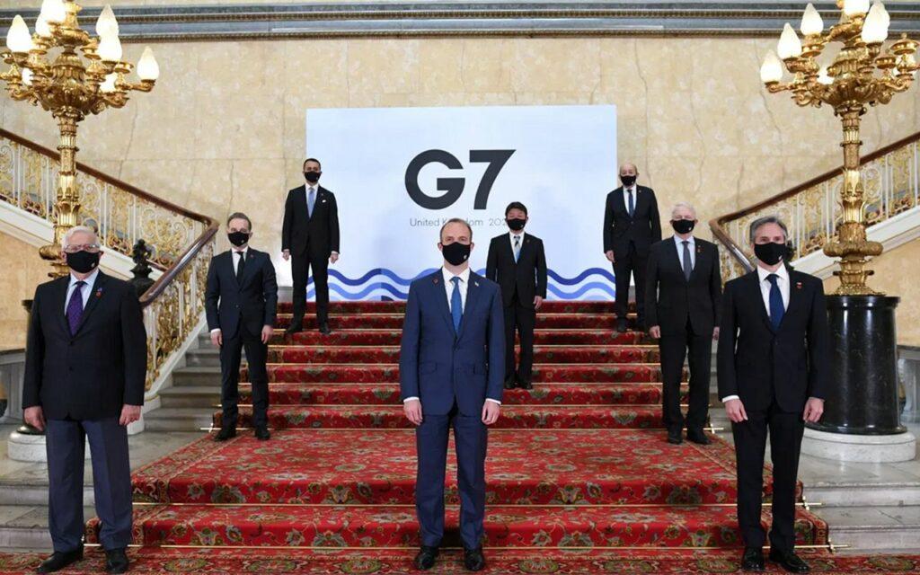 365j.me 一是高估了G7的影响力 两岸舆论都过分解读了G7外长声明